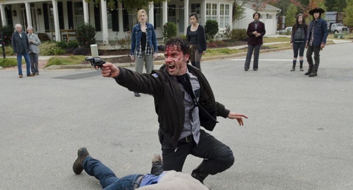 the walking dead 5 temporada rick