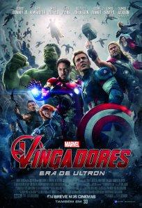 Vingadores: Era de Ultron - poster nacional