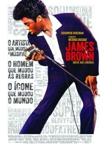 James Brown - poster nacional