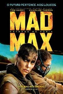 Mad Max: Estrada da Fúria - poster nacional