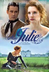 Miss Julie - poster nacional