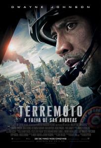 Terremoto: A Falha de San Andreas - poster nacional