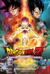 Dragonball Z: O Renascimento de Freeza - poster nacional