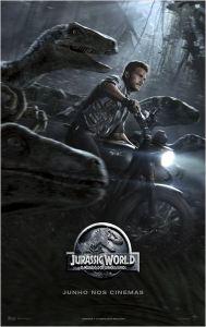 Jurassic World: O Mundo dos Dinossauros - poster nacional