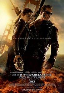 O Exterminador do Futuro: Gênesis - poster nacional