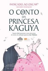 O Conto da Princesa Kaguya - poster nacional