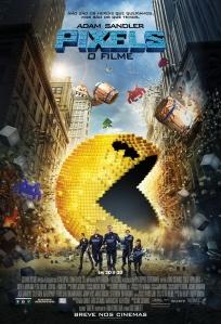 Pixels: O Filme - poster nacional