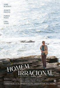 Homem Irracional - poster nacional