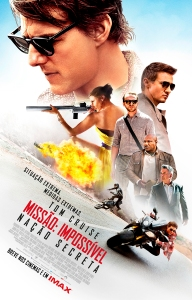 Missão: Impossível - Nação Secreta - poster nacional
