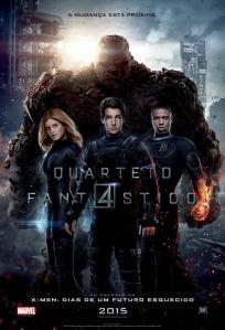 Quarteto Fantástico - poster nacional