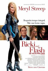 Ricki And The Flash: De Volta Pra Casa - poster nacional