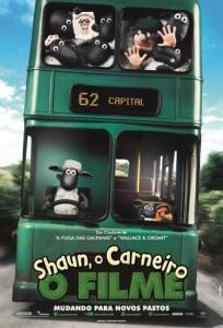 Shaun, o Carneiro: O Filme - poster nacional