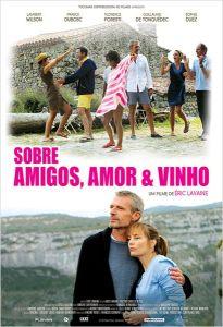 Sobre Amigos, Amor & Vinho - poster nacional