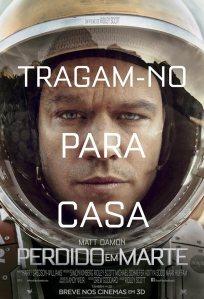 Perdido em Marte - poster nacional