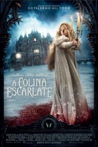 A Colina Escarlate - poster nacional