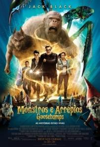 Goosebumps: Monstros e Arrepios - poster nacional