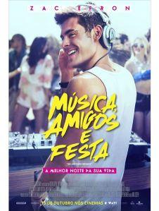 Música, Amigos e Festa - poster nacional