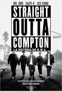 Straight Outta Compton: A História do N.W.A. - poster nacional