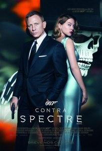 007 Contra Spectre - poster nacional