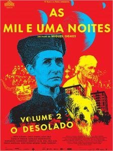 As Mil e Uma Noites: Volume 2 - O Desolado - poster nacional