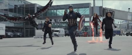 Capitão América Guerra Civil Vingadores