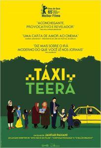 Táxi Teerã - poster nacional