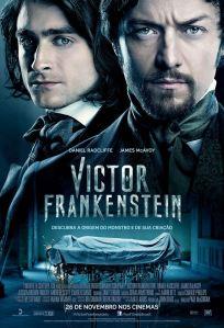 Victor Frankenstein - poster nacional
