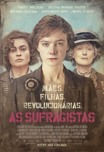 As Sufragistas - poster nacional
