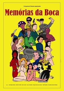 Memórias da Boca - poster