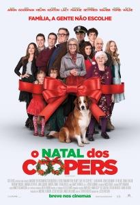 O Natal dos Coopers - poster nacional