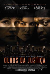 Olhos da Justiça - poster nacional