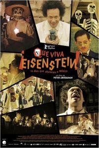 Que Viva Eisenstein! - 10 Dias Que Abalaram o México - poster nacional