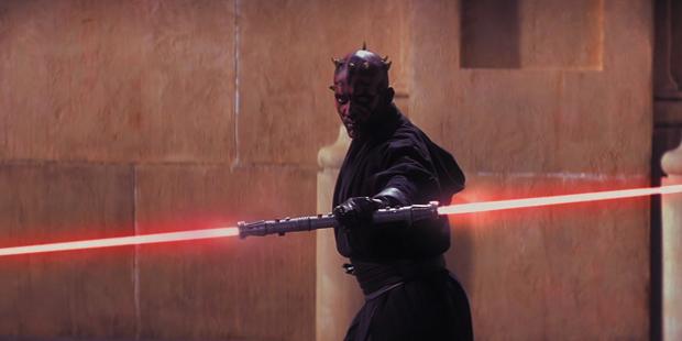 Star Wars I - Darth Maul Sabre Duplo