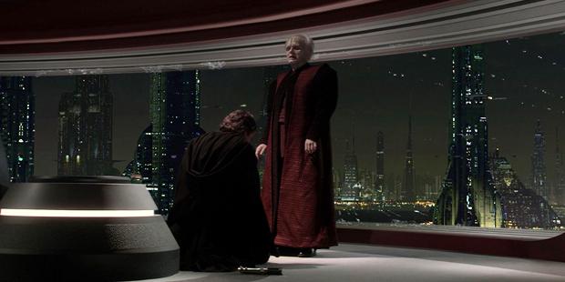 Star Wars III - Anakin se Ajoelha ao Imperador