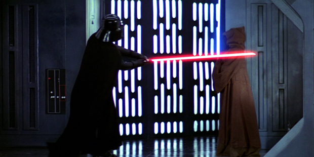 Star Wars IV - Vader Mata Obi Wan
