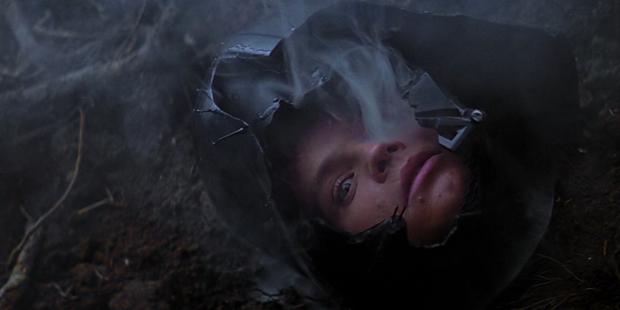 Star Wars V - Luke no Capacete de Vader