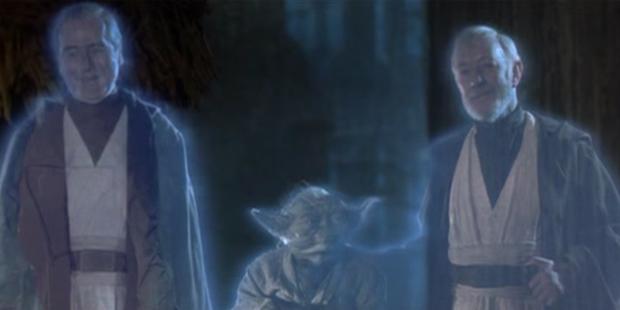 Star Wars VI - Anakin Yoda e Obi Wan Fantasmas