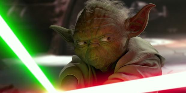 Star Wars - Yoda Lutando