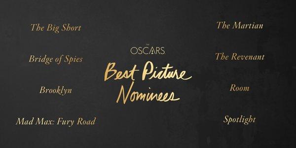 Os indicados a Melhor Filme