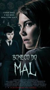 Boneco do Mal - poster nacional