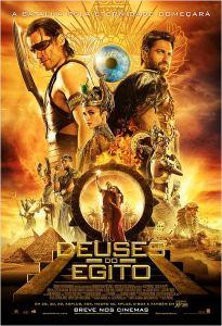 Deuses do Egito - poster nacional