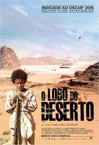O Lobo do Deserto - poster nacional