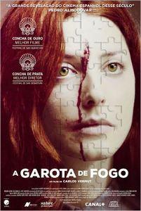 A Garota de Fogo - poster nacional