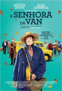A Senhora da Van - poster nacional