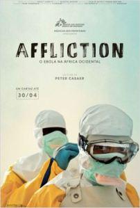 Affliction: O Ebola na África Ocidental - poster nacional