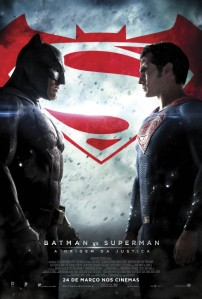 Batman vs Superman: A Origem da Justiça - poster nacional