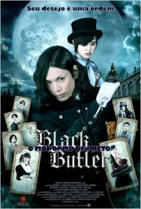 Black Butler: O Mordomo de Preto - poster nacional