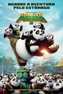 Kung Fu Panda 3 - poster nacional