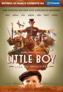 Little Boy: Além do Impossível - poster nacional