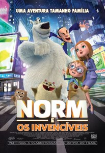 Norm e os Invencíveis - poster nacional